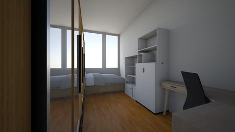 My bedroom - Minimal - Bedroom - by Annie333
