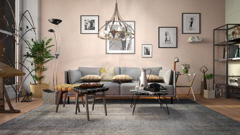 Brigitte_Apartment - Living room - by ZuzanaDesign