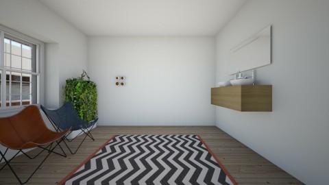 studio apartment - by babybluejane