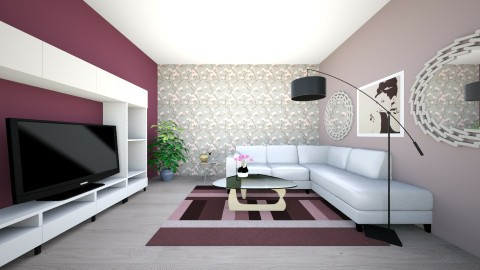 Living Room Woman - Living room - by Ingrid Design