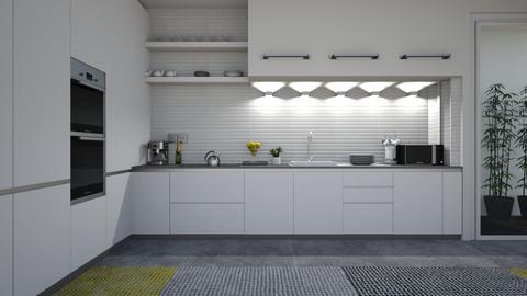 kitchen with balco - by kiregl