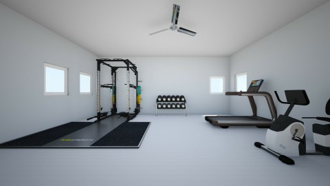 In Home Gym - by Bethany Claire Pham