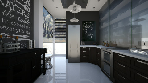 New cabinets - Kitchen - by RonRon