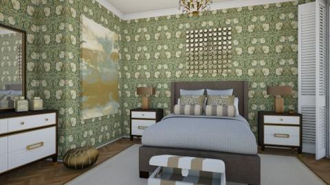 Big Dreams - Vintage - Bedroom - by mclaraop