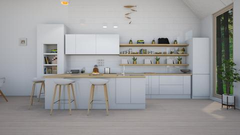 Scandinavian Kitchen - Kitchen - by Sarah Anjuli Gailey