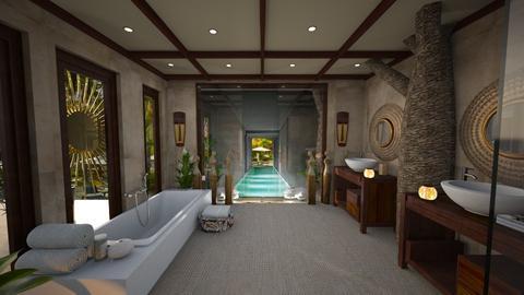 Bali Bathroom - by ZsuzsannaCs