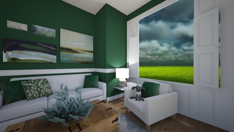Sheep Inspired - Living room - by LooseThreads