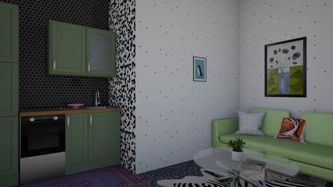 small kitchen  - Modern - Kitchen - by tiana24