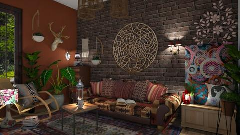 Bohemian - Living room - by Ancy