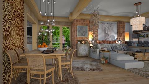 natural boho  - Eclectic - Living room - by Ida Dzanovic