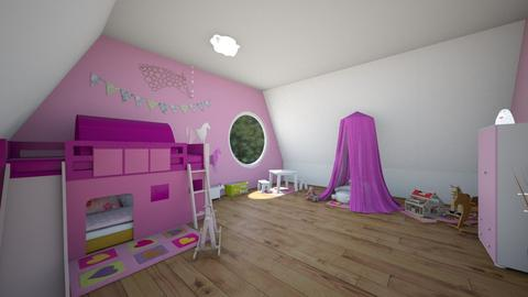 Horse room - Kids room - by jana2608