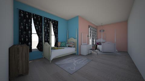 Isabella and Isaac - Rustic - Kids room - by kaylahwatt