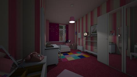 Bedroom_80s teen - by CCPompey