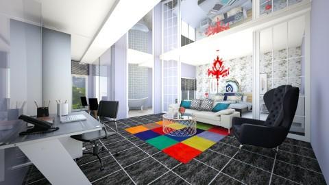 lhome - Living room - by andaq