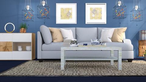M_Coloured light - Living room - by milyca8