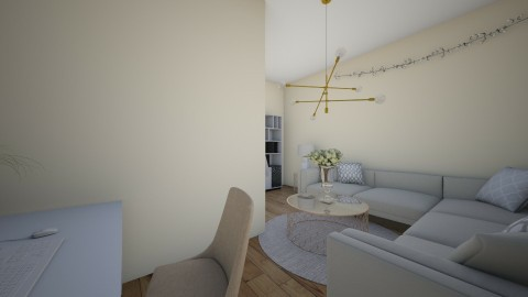 Casual living room - Classic - by Katiemichellegilbert