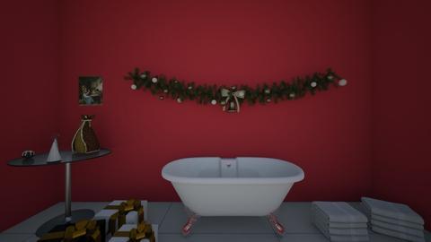 Christmas Bathroom - Bathroom - by Ohtoe