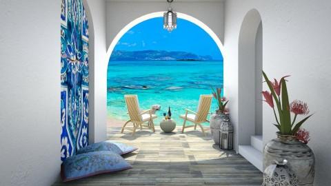 Design 74 Greek Sundeck - Garden - by Daisy320