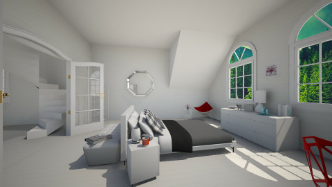 minimal white - Minimal - Bedroom - by franciss