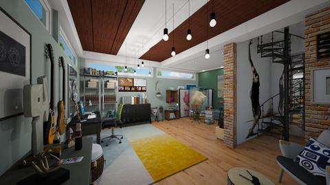 artist office and studio  - by Conchy