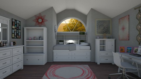 attic room - by cdenton041793