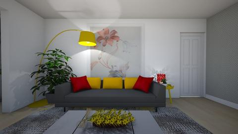 Popescu violeta - Living room - by Flori Santa