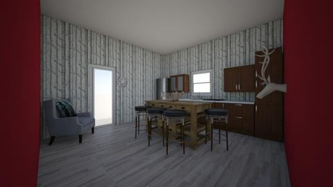 kitchen in the forest - Kitchen - by brooklyn128