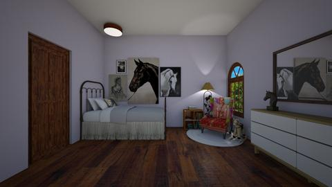 horse bedroom - Country - Kids room - by rosej