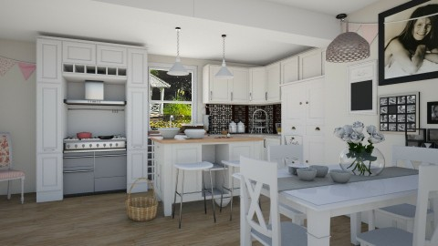 Eat food - Classic - Kitchen - by megalia42