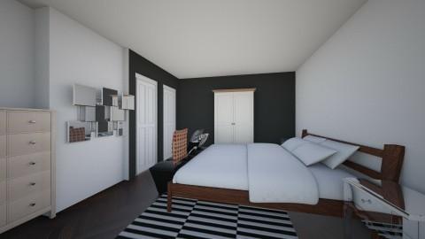 Bedroom redesign - Modern - Bedroom - by basic101