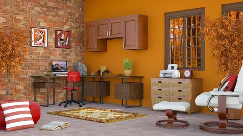 Fall Office - Rustic - Office - by millerfam