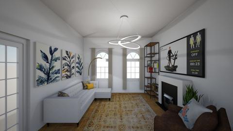 New Cross Road - Living room - by rachelbbridge
