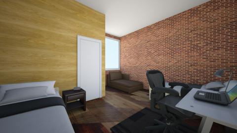 Dorm - Bedroom - by doyleaustinjordan