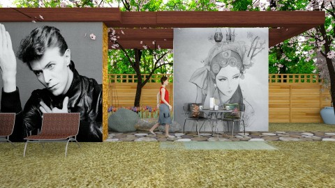 china girl - Modern - Garden - by sometimes i am here