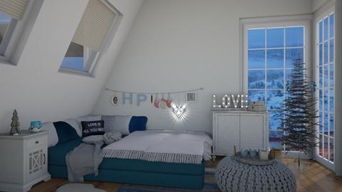 winter feeling - Bedroom - by i l o n a