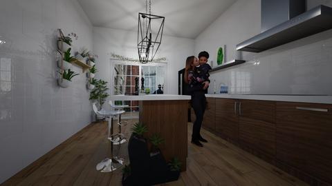 Urban Jungle Kitchen - Kitchen - by emmas004