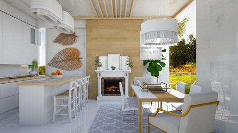 Minimalistic kitchen - by NikolinaB26