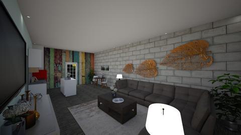 Rental Suite - Modern - Living room - by FabulousGirl35