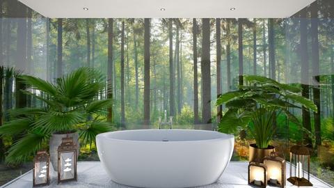 Bathroom glass - Modern - Bathroom - by Zephyrs