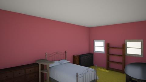 Savannah room - Modern - Bedroom - by TerrificClaw674