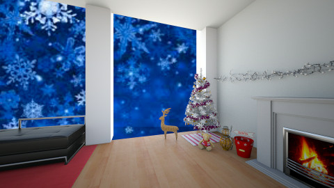 MERRY CHRISTMAS  - Living room - by LTooth