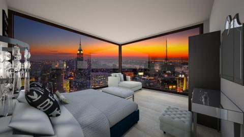city apartment bedroom2 - by tam_u