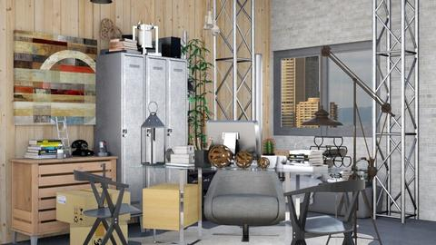 Industrial Office - Modern - Office - by Isaacarchitect