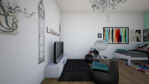 oppisite - Bedroom - by Katherine Gilbert
