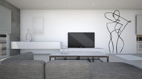 Mod liv - Living room - by KimAlys