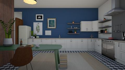 eccentric kitchen - by SofiaL