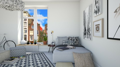 Plain bedroom - Bedroom - by martinabb