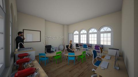 Classroom - by MrCAM