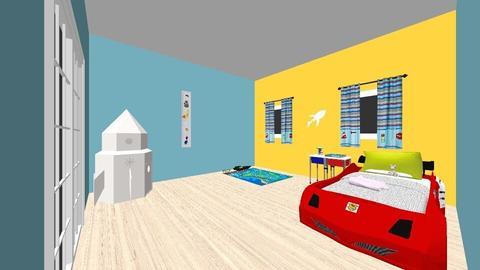 Little Boys room - Bedroom - by Zandra Docken