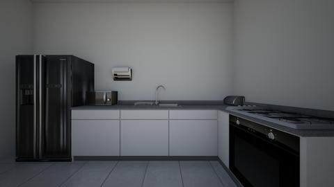 Kitchen Pt 1 - Modern - Kitchen - by khalifaels
